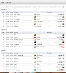 World Cup Table Football How Is Fifa World Cup Schedule Created Sports Stack