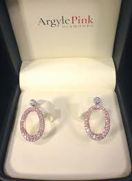 diamond earrings sale oprah winfrey argyle pink diamond earrings up for sale estimated