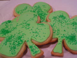 shamrock sugar cookies crazy for crust