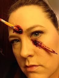 special effects makeup schools atlanta pencil through my nose special effects makeup pencil ben nye