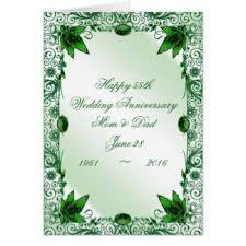 55th wedding anniversary 55th wedding anniversary greeting cards zazzle co uk