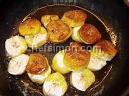 cuisiner la banane plantain banane plantain recette de bananes plantain frites ou sautées