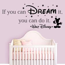 wandtattoo if you can dream it you can do it walt disney quote if if you can dream it do walt disney quote wall stickers
