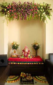 25 unique flower decoration for ganpati ideas on
