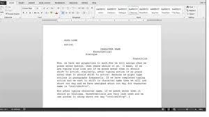 tutorial youtube word microsoft word screenplay template showbizprofile com