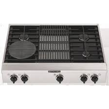 Cooktop With Griddle And Grill Kgcp462kss 36