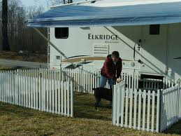 we found portable rv fencing by picket play fencing has anyone