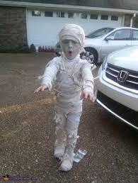 Halloween Mummy Costumes Mummy Costume Simple Tutorial Diy Mummy Costume Boy