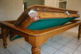 Cool Idea Especially For A Formal Dining Room You Dont Use Very - Combination pool table dining room table