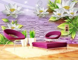 3d murals embossed flowers 3d wallpaper walls for living room sofa bedroom