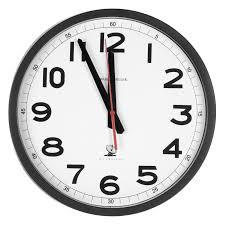 Art Wall Clock by Howard Miller Office Mate 10 5 In Wall Clock Hayneedle