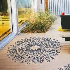 home floor decor mandala decorative stencil geometric stencil for diy decor