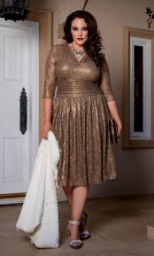 plus size cocktail party dresses evening wear by kiyonna styles