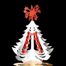 miniature christmas paper tree diy mashustic com