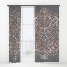 cactus window curtains society6