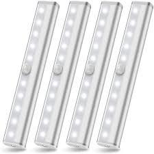lights kitchen cabinets battery operated wireless cabinet lighting motion sensor light