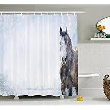 Horse Bathroom Accessories by Horse Shower Curtains For Sale
