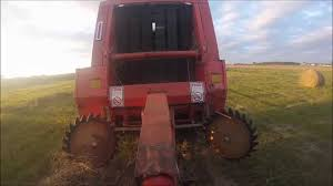 mueller baling playing with the hesston 5540 youtube