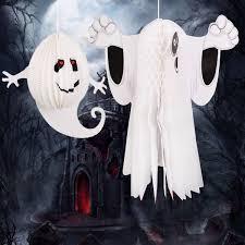 halloween prop sale paper hanging ghost window door hanger halloween party decoration