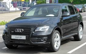 Audi Q5 Black - file audi q5 front 20100613 jpg wikimedia commons