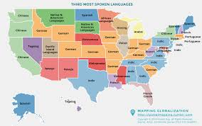 German States Map by Third Most Spoken Language For States In The Us 2048 X 1284
