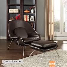 womb chair and ottoman modern chair design ideas 2017