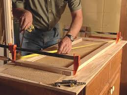 How To Make Cabinet Door How To Add Antique Leaded Glass To Cabinet Doors How Tos Diy