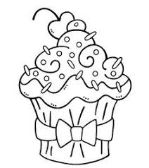 cute cupcake coloring pages story time crafts pinterest