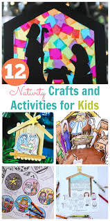 nativity crafts and activities for kids happy home fairy