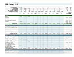 Company Budget Template Best Budget Template Best Free Budget Templates For Excel 10