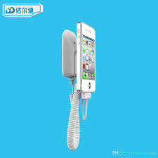 Phone Charging Stand by Mobile Phone Charging Stand Anti Theft Burglar Alarm Holder Micro