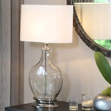 Nickel Table Lamp Table Lamp Clear Base Best Inspiration For Table Lamp