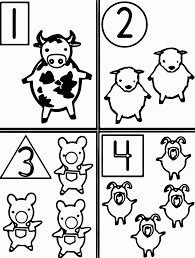 farm animals coloring pages for kids printable coloring home