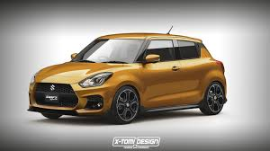 suzuki swift sport rendering looks like the perfect affordable