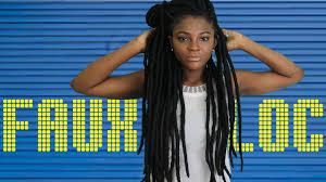 black cuban twist hair diy faux locs with cuban twist fast easy method youtube