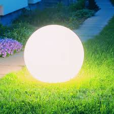 globe shaped outdoor lighting moonlight bmfl 250 globe l with battery modern and contemporary