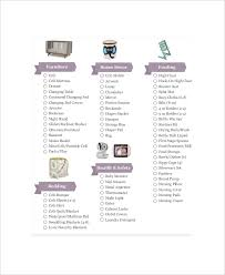 gift registry 5 baby gift registry checklists free sle exle format