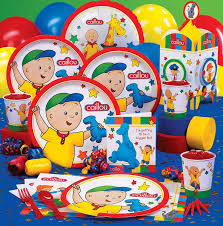 birthday supplies 30 best caillou birthday party ideas decorations and supplies