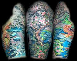 scott bramble tattoos and illustration seasons