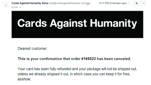 cards against humanity where to buy in store i ordered cards against humanity s 5th expansion or at least i
