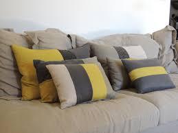 coussins pour canapé coussin pour canapé inspirant des coussins fait maison pour mon