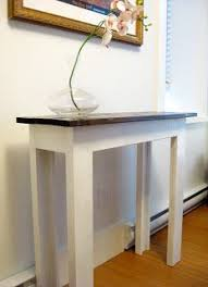ana white build a 2x4 chunky console free and easy diy project