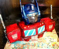 optimus prime cakes optimus prime cake
