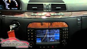2006 mercedes benz s500 4matic navigation youtube