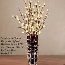 lighted tree branches battery lighted branches with wooden vase for home accessories