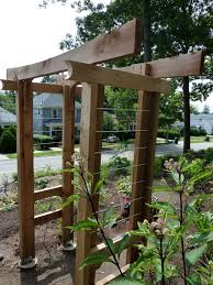 wood and metal trellis google search trellis pinterest
