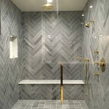 stunning shower herring bone lorca marble by tabarka studio new