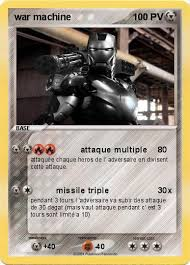 Pokémon war machine 5 5  attaque multiple  Ma carte Pokémon