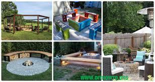 Garden Firepit Diy Garden Firepit Patio Projects Free Plans
