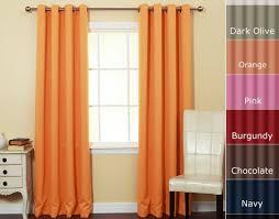 Burgundy Velvet Curtains Curtains Amazing Orange Curtains Ikea Endearing Orange Velvet